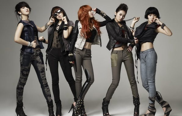 Picture Music, Asian, Kpop, 4Minute, Korean, Singers