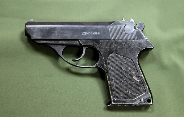Picture gun, small, gun, pistol, USSR, army, was, for, caliber, composition, KGB, weapons, higher, self-loading, small, …