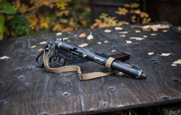 Picture weapons, strap, the gun, Sten MkIII