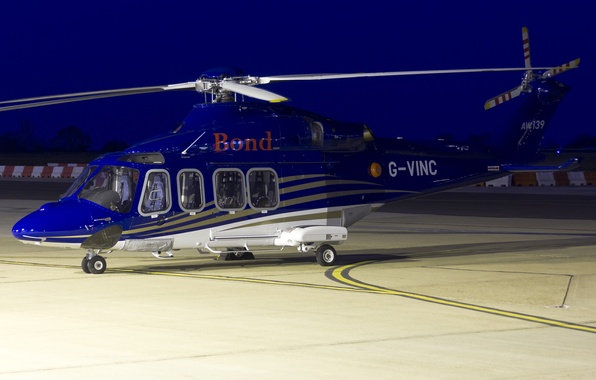 Picture helicopter, multipurpose, twin-engine, AW139, Agusta Westland