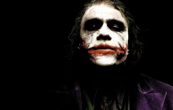 Picture face, Joker, people, man, the dark knight, joker, Heath Ledger, crazy, criminal