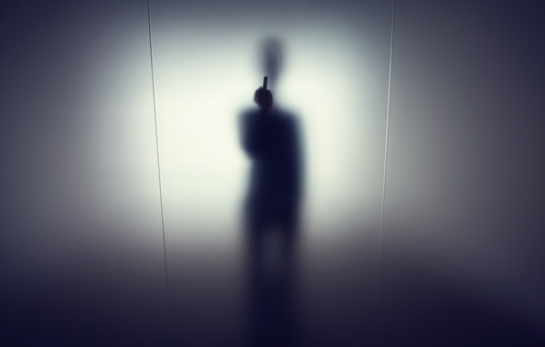 Picture light, background, silhouette