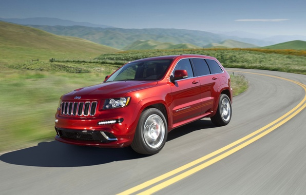 Picture road, Jeep, Grand Cherokee, Summit