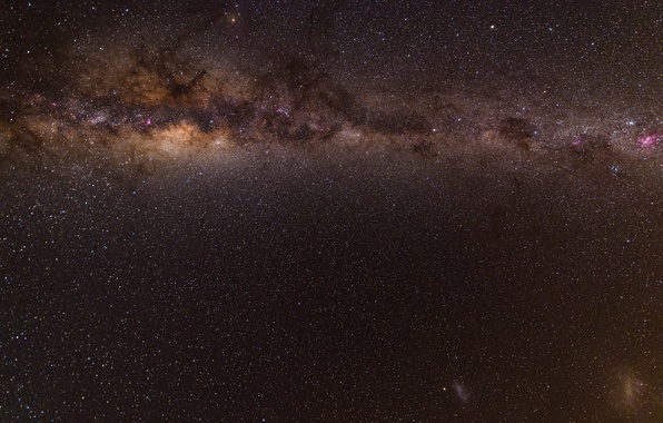 Picture space, stars, night, beauty, the milky way