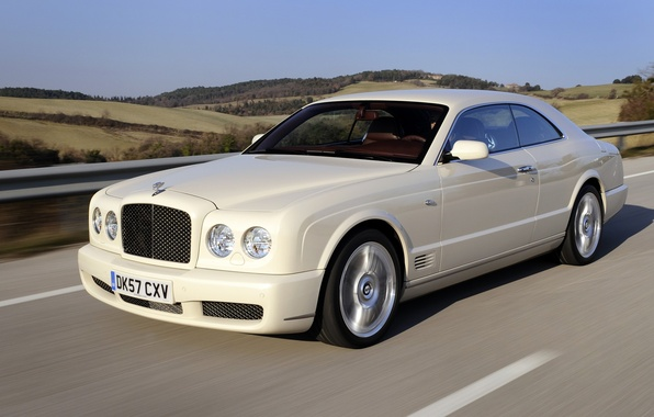 Picture car, Bentley, cream