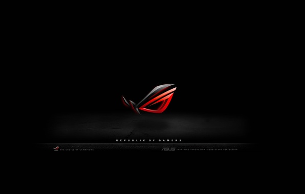 Picture black, asus, republic, gamers
