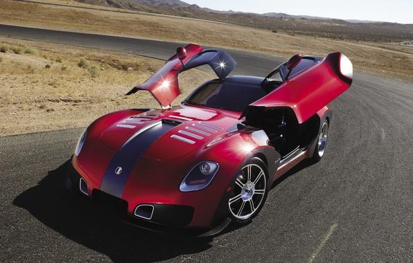Picture road, Machine, Devon, sports car, GTX