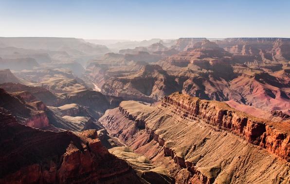 Picture mountains, canyon, AZ, USA, USA, Arizona, rocks, canyon, The Grand Canyon, Grand Canyon