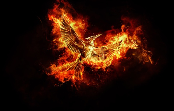 Picture Fire, Games, The, Wallpaper, Alma, Bird, Year, Cressida, Jennifer Lawrence, Movie, Josh Hutcherson, Part 2, …