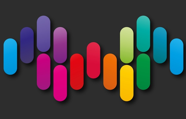 Picture colors, colorful, abstract, rainbow, background, geometry, shapes