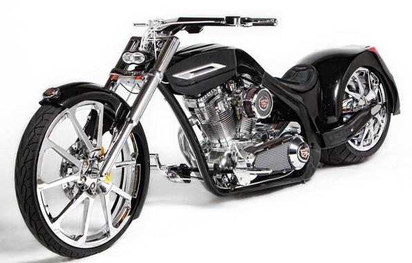 Picture custom, BLACK, TUNING, CHOPPER, BIKE, Paul Junior Design