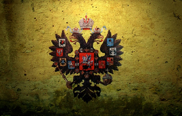 Picture coat of arms, Russian Empire, double-headed eagle, The Russian Empire