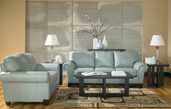 Picture design, lamp, room, sofa, carpet, furniture, plant, interior, chair, blue, table, design, tone, vases, coffee, …