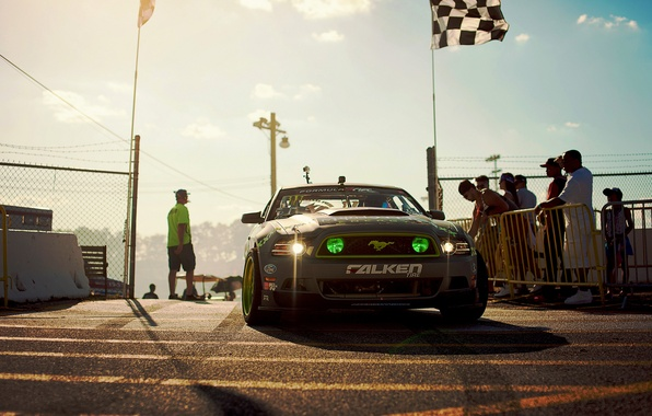 Picture Mustang, Ford, GT500, Drift, Monster Energy, Tuning, Hawks, Sportcar