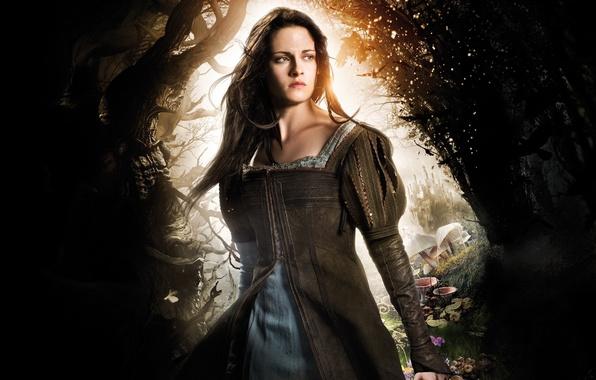 Picture fantasy, Kristen Stewart, Kristen Stewart, Snow White and the Huntsman, Snow white and the huntsman