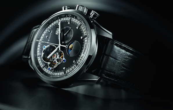Picture watch, zenith, stylish, the first, chronometer, chronomaster
