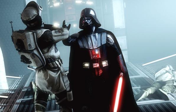 Picture power, villain, star wars, darth vader, rebel, lightsaber, Star Wars: Battlefront