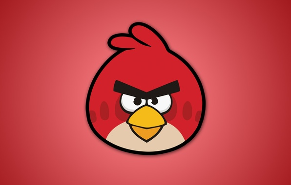 Picture birds, red, angry birds, angry birds, video games, angry birds
