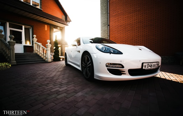 Picture machine, auto, lights, Porsche, Porsche, photographer, Panamera, before, auto, photography, photographer, Panamera, Thirteen