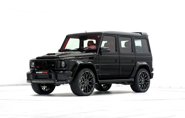 Picture black, Mercedes-Benz, SUV, Brabus, Mercedes, BRABUS, g, G-Class, W463