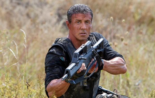 Sylvester Stallone In Expendables 2 Wallpapers: Wallpaper Weapons, Frame, Sylvester Stallone, Sylvester