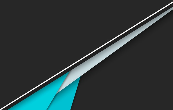 wallpaper white line blue black android material background