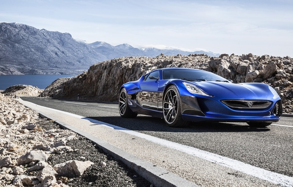 Picture Concept One, Rimac, electric car, RIMAC