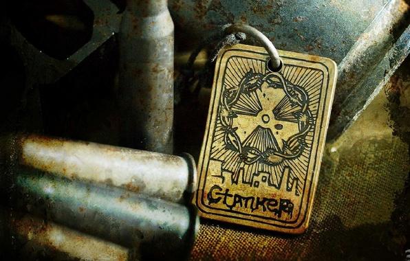 Picture medallion, stalker, Stalker