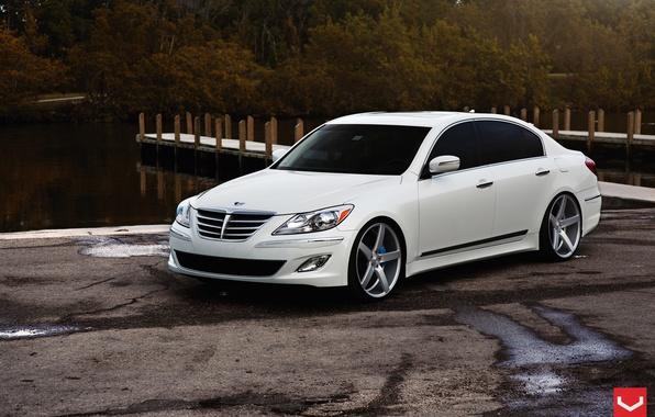 Picture Hyundai, Vossen, Wheels, Genesis