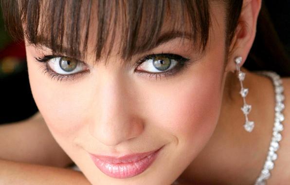 Picture look, smile, style, portrait, actress, Olga Kurylenko, Olga Kurylenko, celebrity, beautiful, producer, writer, charming, celebrity.
