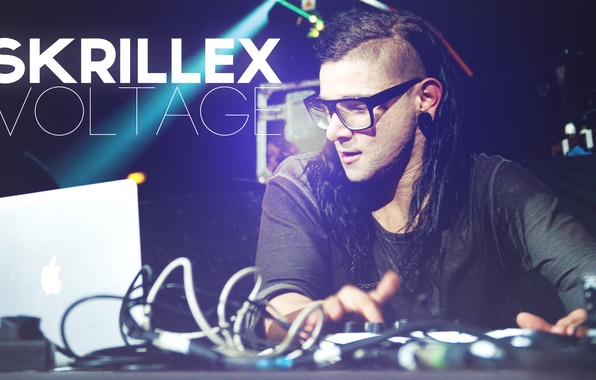 Picture remote, dubstep, Skrillex, Sonny Moore, progressive house, Voltage, Sonny Moore