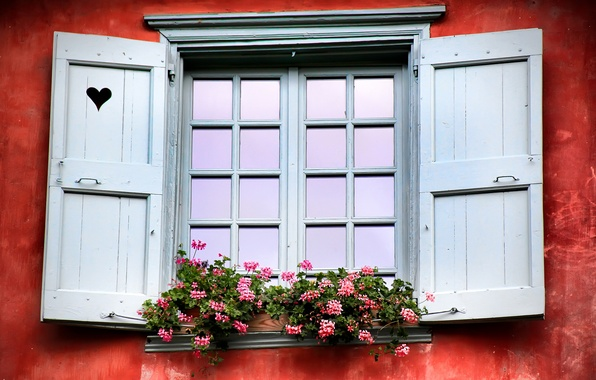Picture France, window, shutters