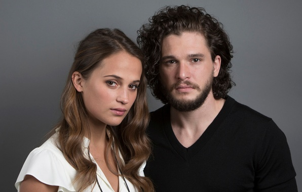 Picture Kit Harington, the portrait session, for the film, Alicia Vikander, Testament of Youth, Memories of …