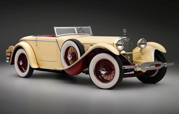 Picture retro, mercedes-benz, cars