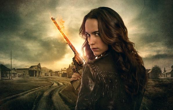 Picture fantasy, the series, detective, Thriller, action, drama, Western, 2016, Wynonna Earp, Melanie Scrofano, Winona Earp