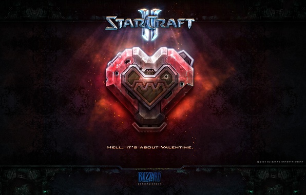 Picture Starcraft 2, Valentine, earthlings