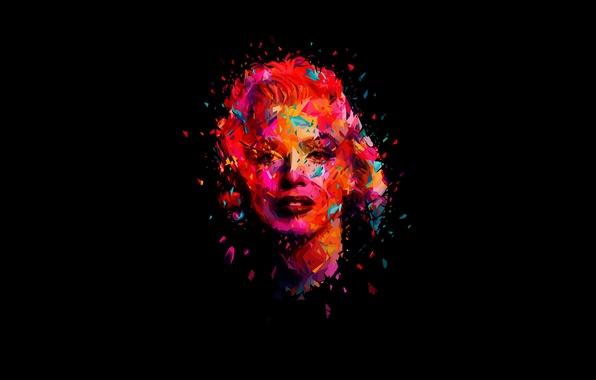 Picture face, model, actress, singer, Marilyn Monroe, Marilyn Monroe