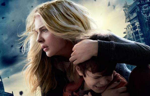 Picture fiction, Apocalypse, disaster, poster, Chloe Grace Moretz, Chloe Grace Moretz, The 5th Wave, 5th wave