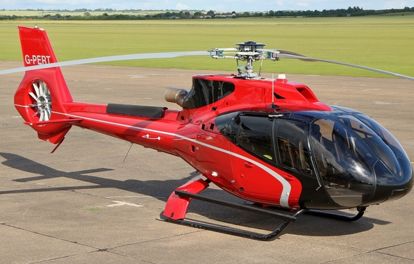 Picture helicopter, Airbus, single-engine, easy, EC130 T2