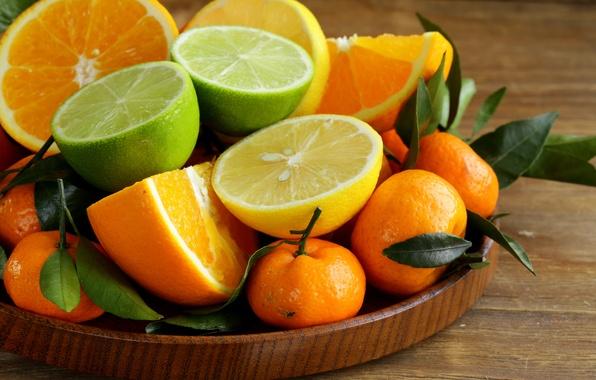 Picture oranges, lime, citrus, lemons, tangerines