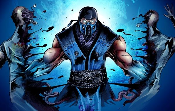 Picture Mortal Kombat, ninja, Sub-Zero, fighting