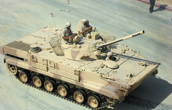 Picture army, infantry fighting vehicle, Arab Emirati, Soviet, BMP 3, BMP 3, foreign