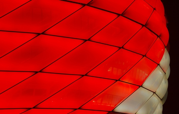 Picture macro, lights, color, Munich, the Allianz arena