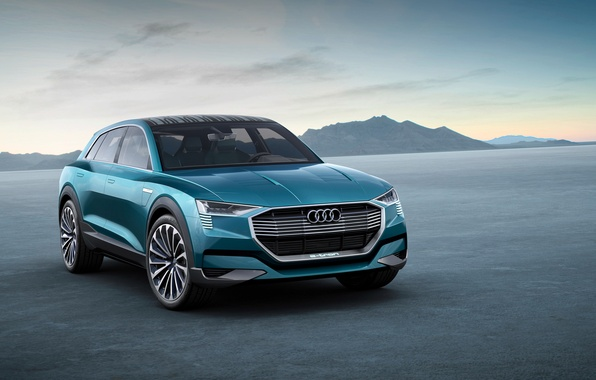 Picture Audi, Audi, concept, the concept, quattro, 2015, e-trn