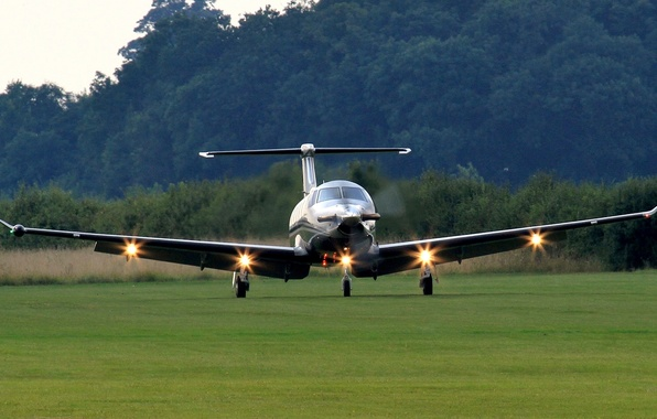 Picture the airfield, the rise, readiness, Pilatus PC-12, Pilatus PS-12