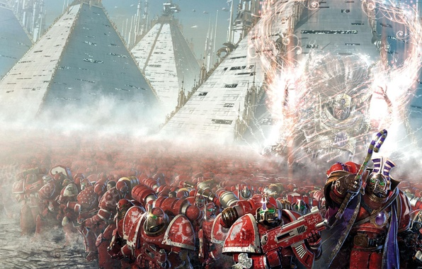 Picture Horus Heresy, Warhammer 40000, A Thousand Sons, Magnus, Graham McNeil, Heresy Mountain, space Marines