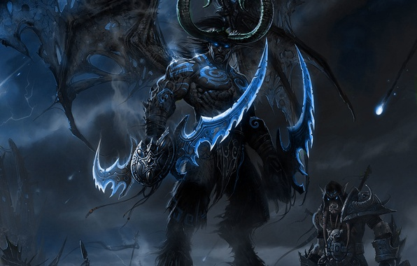 demon wallpaper wallpaper wow illidan demon images for desktop section