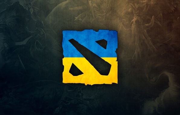 Picture the game, logo, logo, Ukraine, ukraine, dota 2