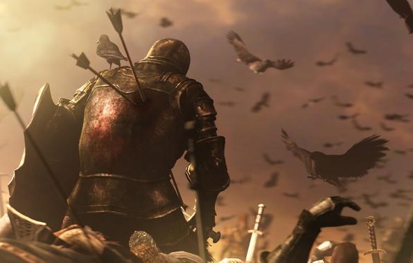 Picture rpg, death, warrior, dark souls 2