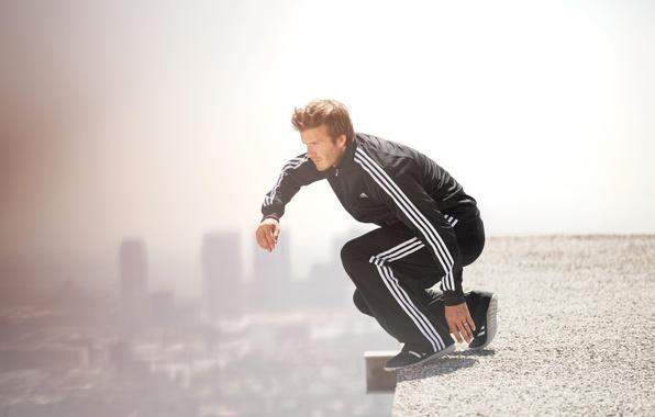 Picture model, David Beckham, player, David Beckham, Milan